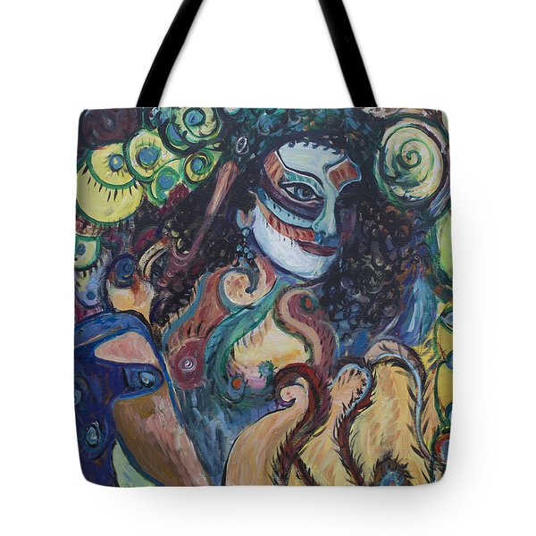 Librarian Of The Night #1 Tote Bag by Avonelle Kelsey