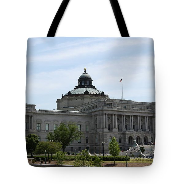 Library Of Congress  Tote Bag by Christiane Schulze Art And Photography