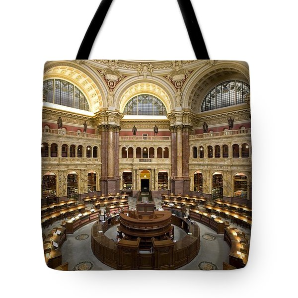 Library Of Congress Tote Bag by Mountain Dreams