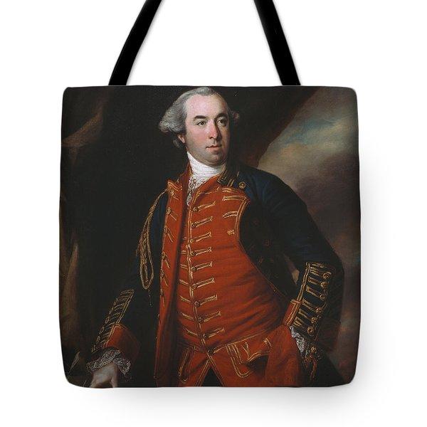 Lieutenant Colonel William Phillips 1764 Tote Bag by Francis Cotes