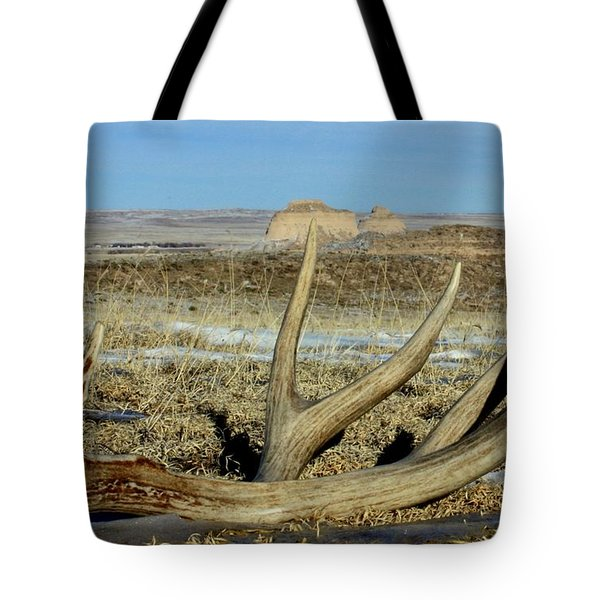 Life Above The Buttes Tote Bag