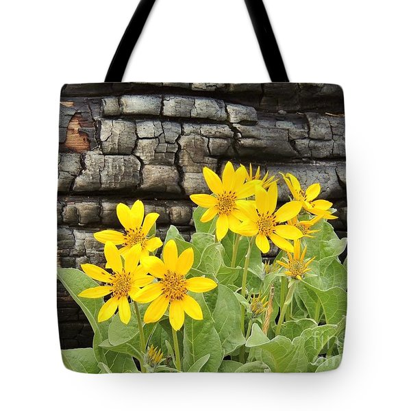 Life After Fire Tote Bag by Michele Penner