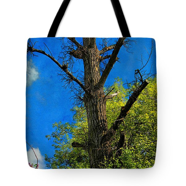 Life And Death Tote Bag by Mariola Bitner