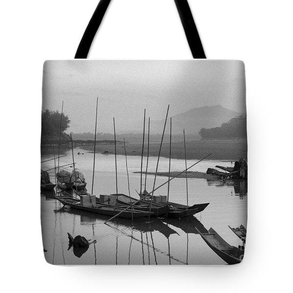 life at Mae Khong river Tote Bag