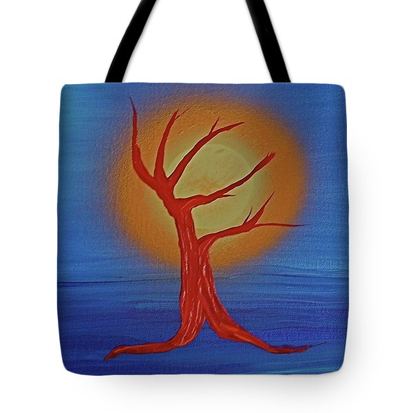 Tote Bag featuring the painting Life Blood By Jrr by First Star Art
