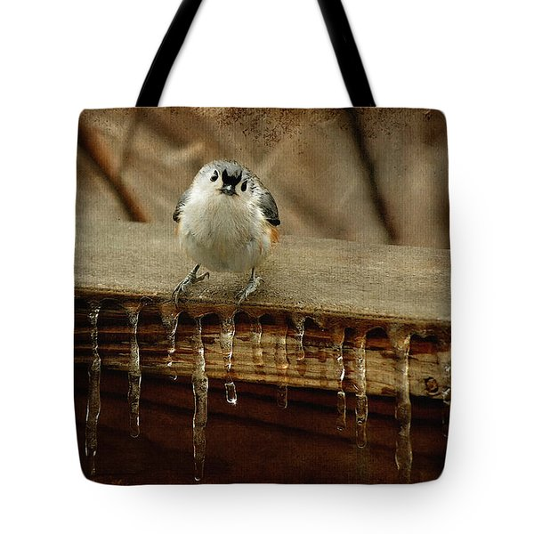 Life Can Be Tough Tote Bag by Lois Bryan