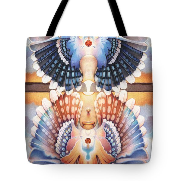 Life Circle Regalia Tote Bag by Amy S Turner