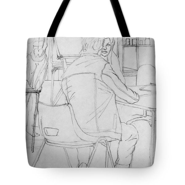 Life Drawing Tote Bag