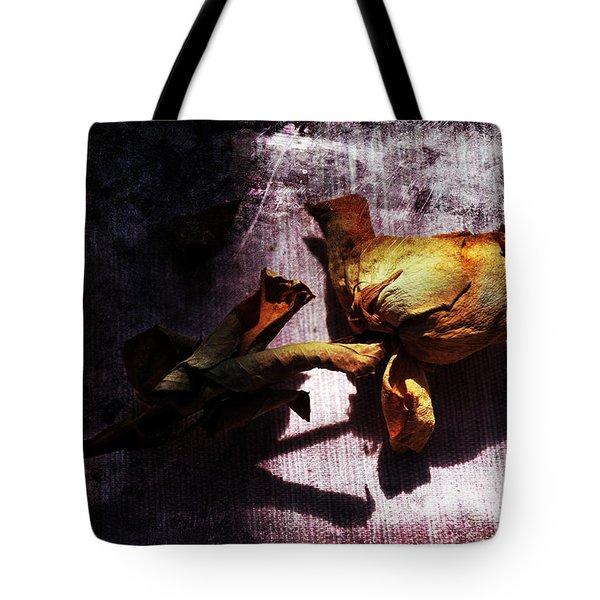 Life Ended Tote Bag by Randi Grace Nilsberg
