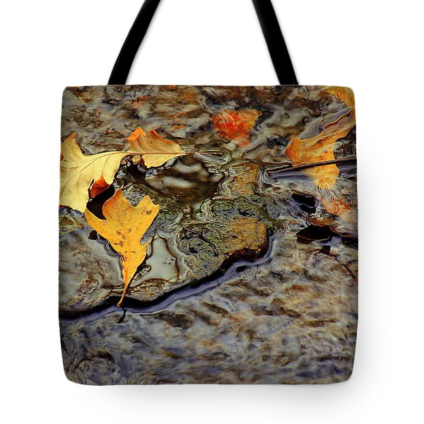 Life Flows Tote Bag
