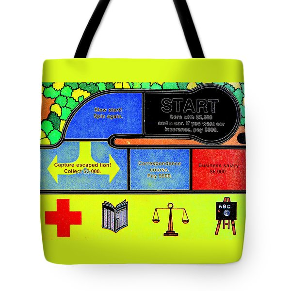 Life In Brighter Colors Tote Bag by Kellice Swaggerty