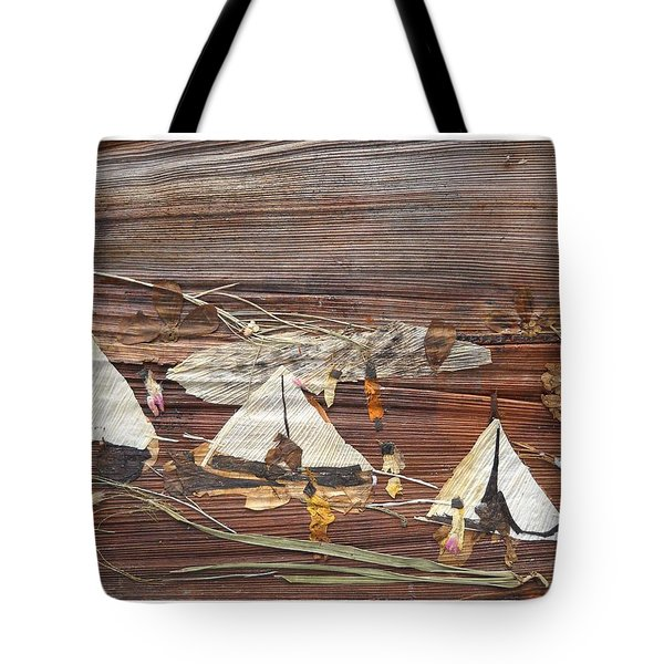 Life In Tents Tote Bag by Basant Soni