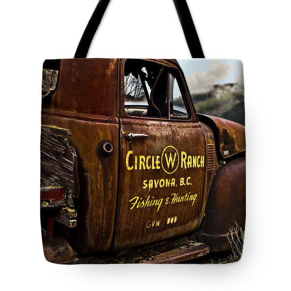 Life In The Past Lane Tote Bag by Sandi Mikuse