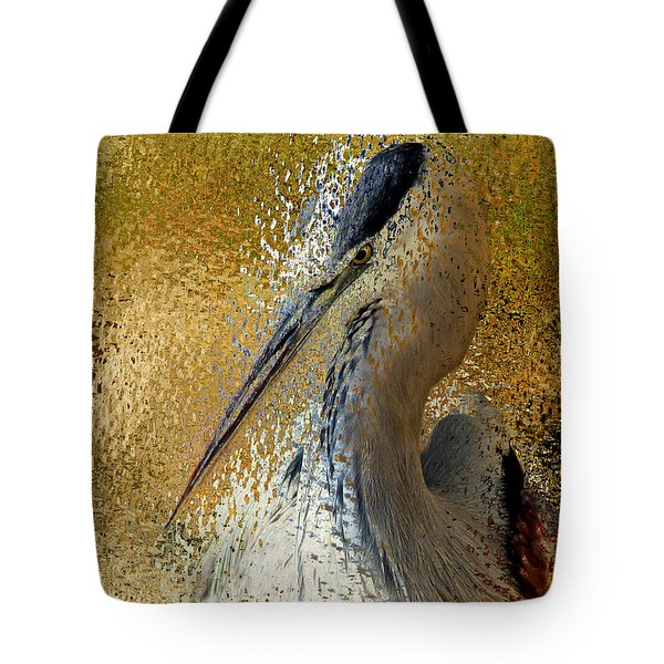 Life In The Sunshine - Bird Art Abstract Realism Tote Bag