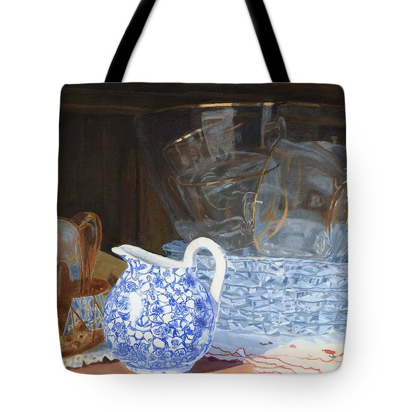 Life Is A Carnival Glass Tote Bag by Lynne Reichhart