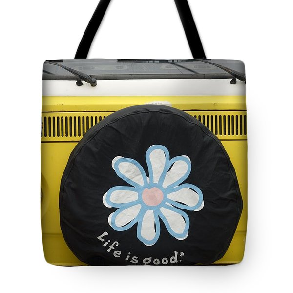 Life Is Good With Vw Tote Bag