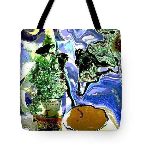 Life Is What You Make It 2 Tote Bag by Linda Cox