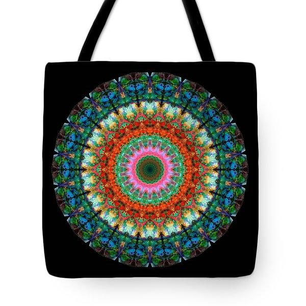 Life Joy - Mandala Art By Sharon Cummings Tote Bag