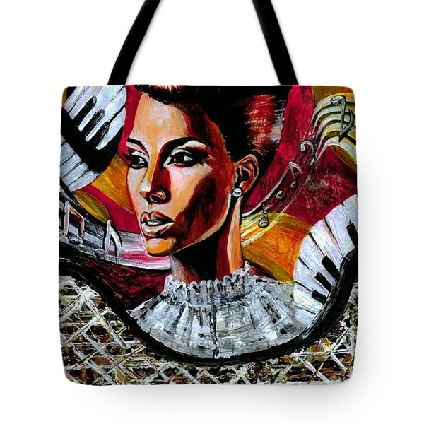 Life May Put You On Crazy Roller-coaster Rides But When Your Song Plays... Tote Bag