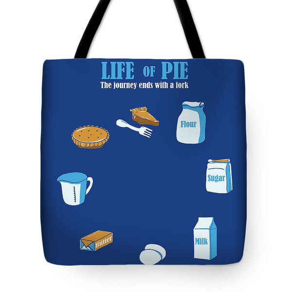 Life Of Pie Tote Bag