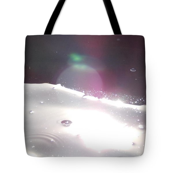 Tote Bag featuring the photograph Spaced Out by Deborah Moen