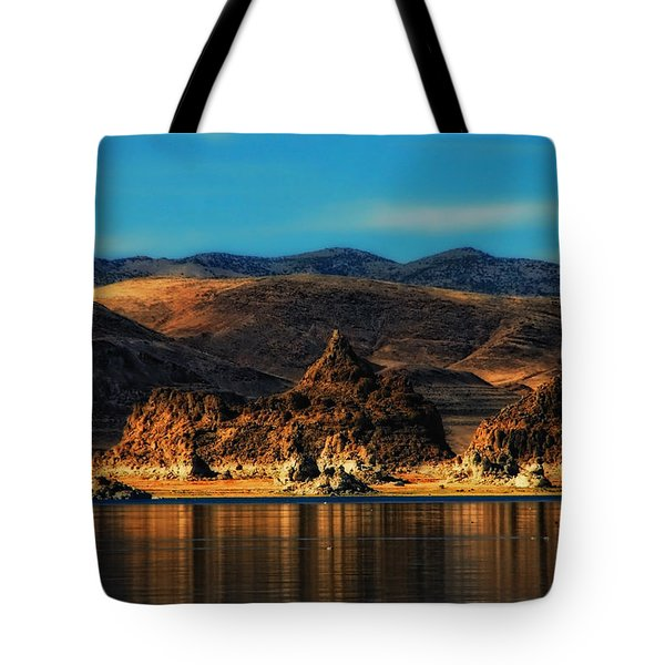 Life On Mars Tote Bag by Donna Blackhall