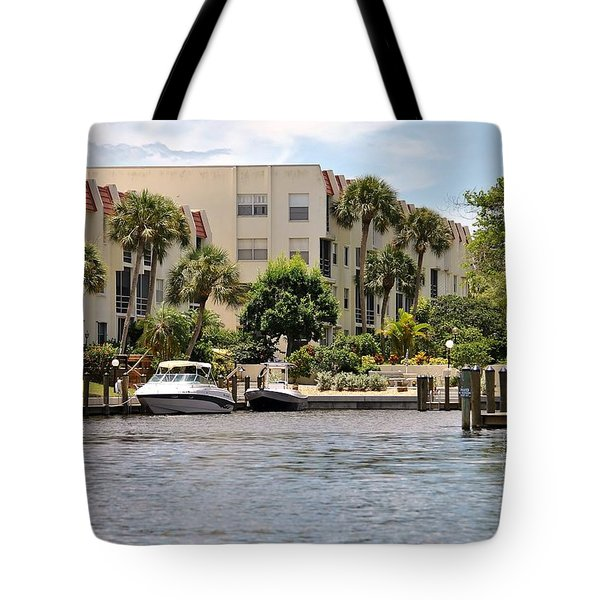 Life On The Intracoastal Tote Bag