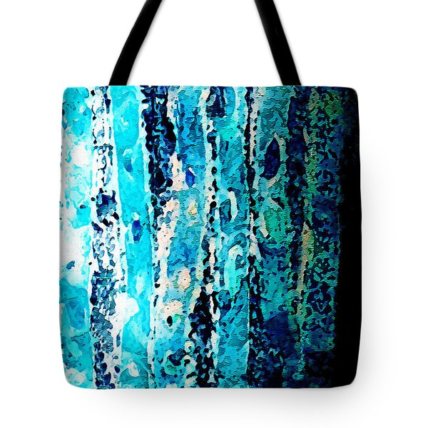 Tote Bag featuring the digital art Life by Paula Ayers