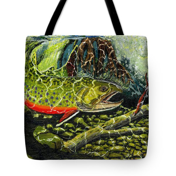 Life Under The Brook Tote Bag