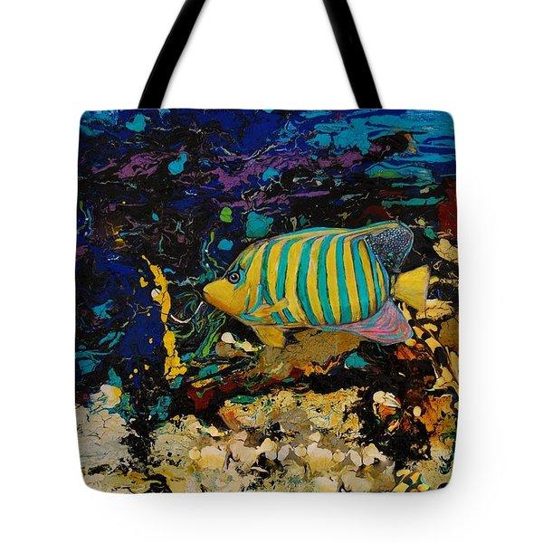 Life Underwater Tote Bag by Jean Cormier