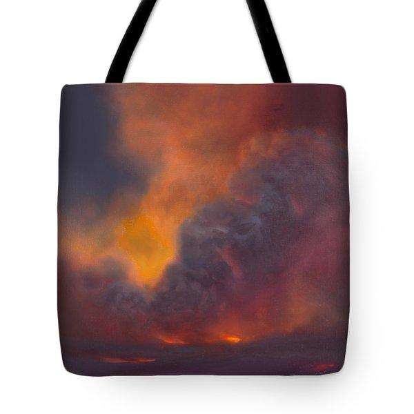 Life Within Hawaiian Volcano Tote Bag
