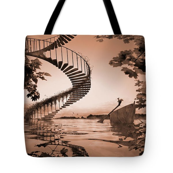 Life Without Stairs Tote Bag