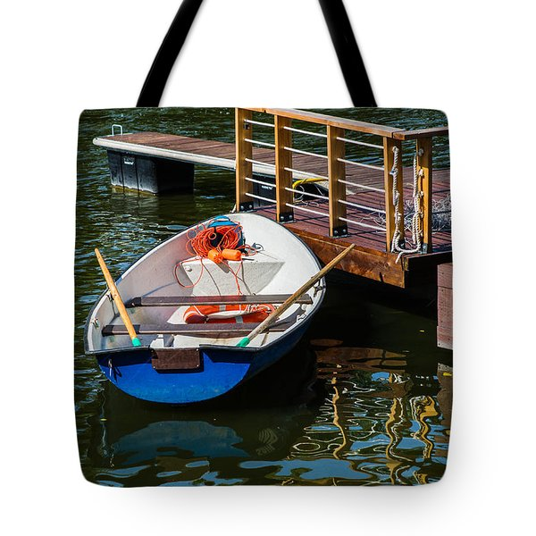 Lifeboat On Duty - Featured 3 Tote Bag by Alexander Senin