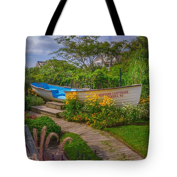 Lifeboat Seating Tote Bag