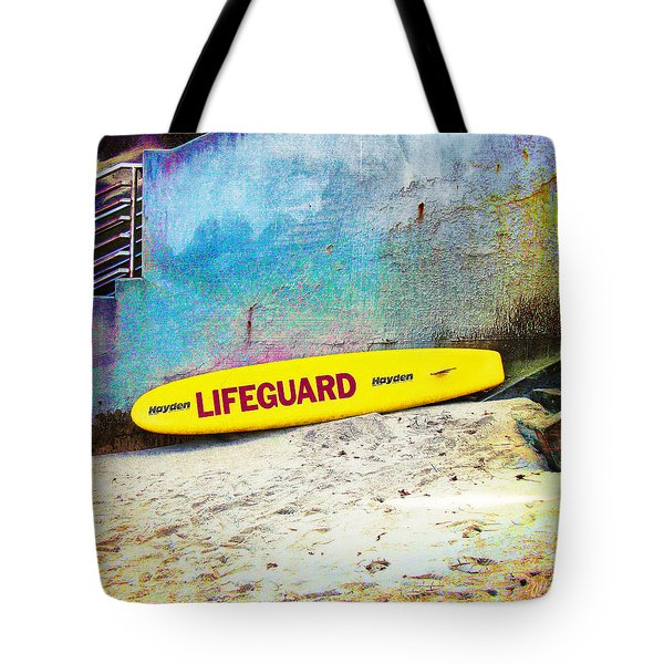 Lifeguard At Rest Tote Bag