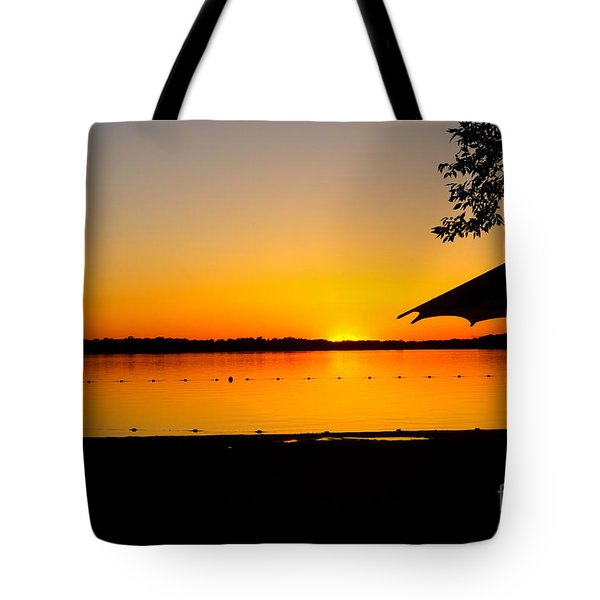 Tote Bag featuring the photograph Lifeguard Off Duty by Jacqueline Athmann