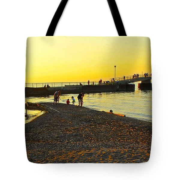 Lifes A Beach Tote Bag by Frozen in Time Fine Art Photography