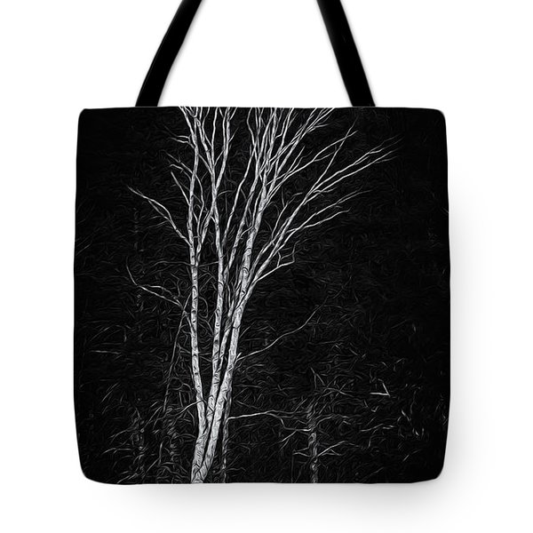 Life's A Birch No.2 Tote Bag by Mark Myhaver