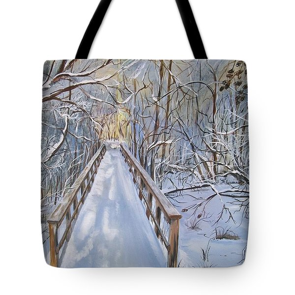 Life's  Path Tote Bag