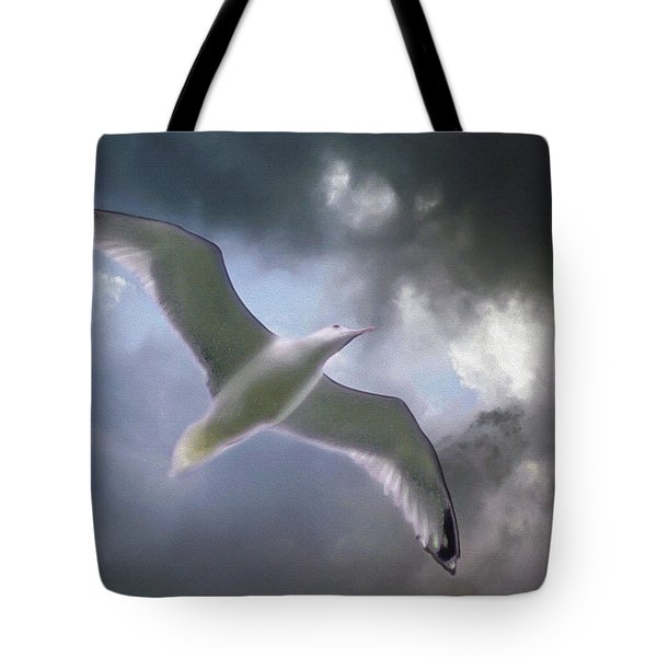 Lift - Oil Paint Effect Tote Bag by Brian Wallace