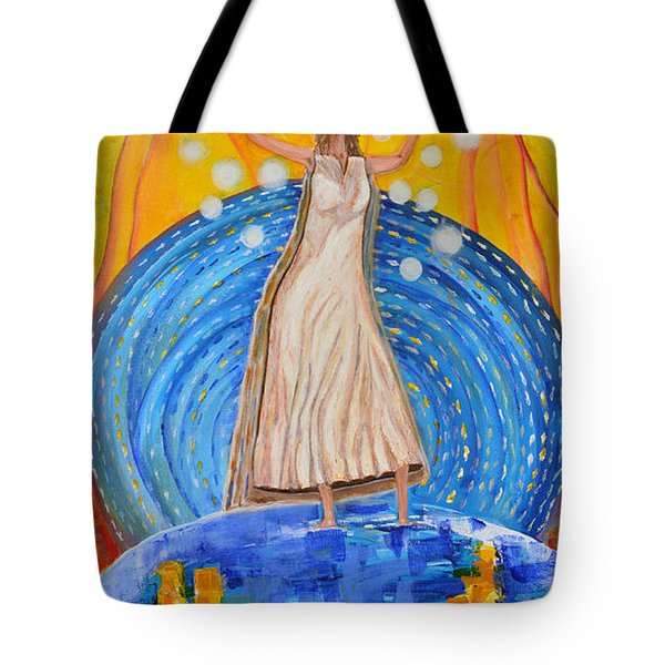 Lifting The Veil Tote Bag by Cassie Sears
