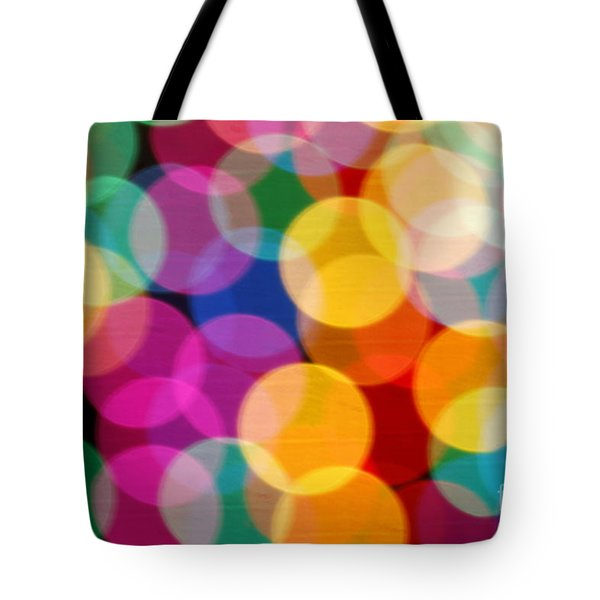 Light Abstract Tote Bag