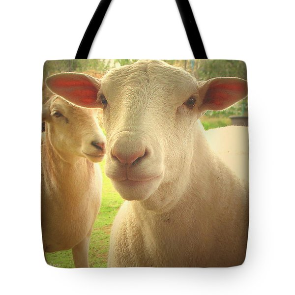 Light And Peace Tote Bag