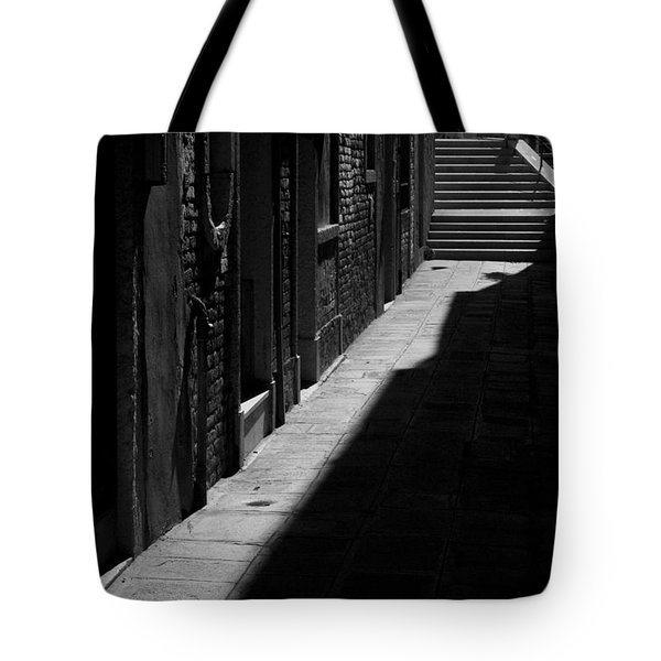 Tote Bag featuring the photograph Light And Shadow - Venice by Lisa Parrish