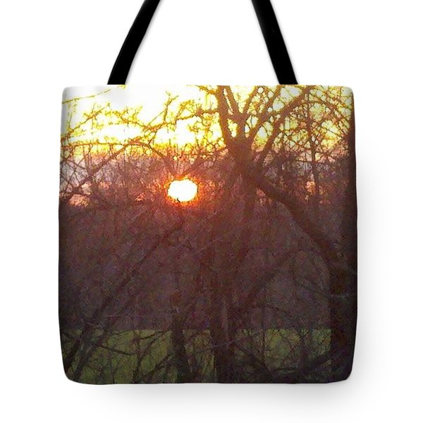 Light At Sunrise Tote Bag