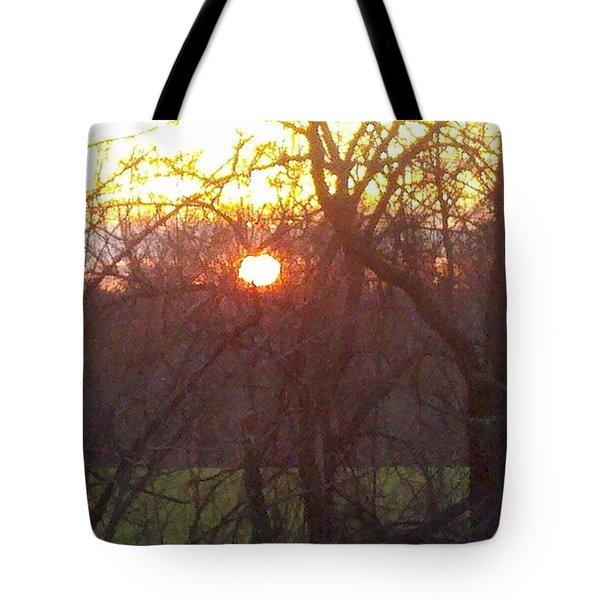 Light At Sunrise Tote Bag