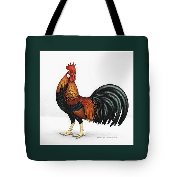 Light Brown Leghorn Tote Bag