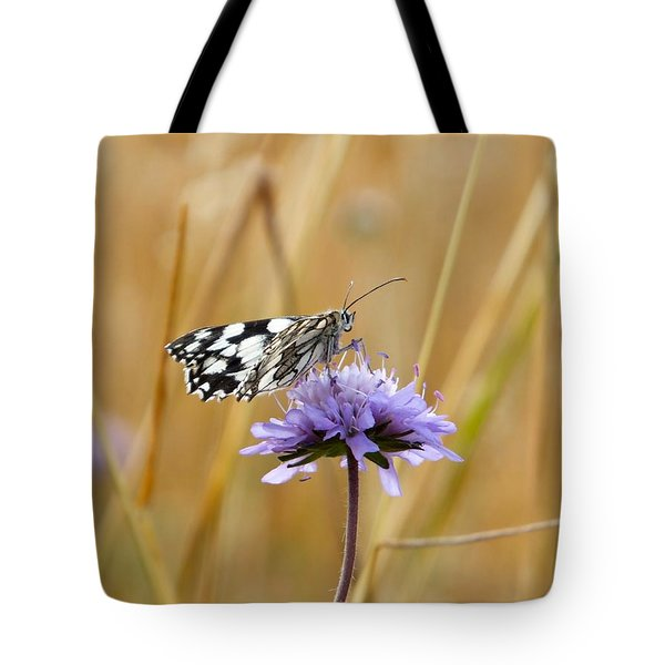 Light Butterfly Tote Bag
