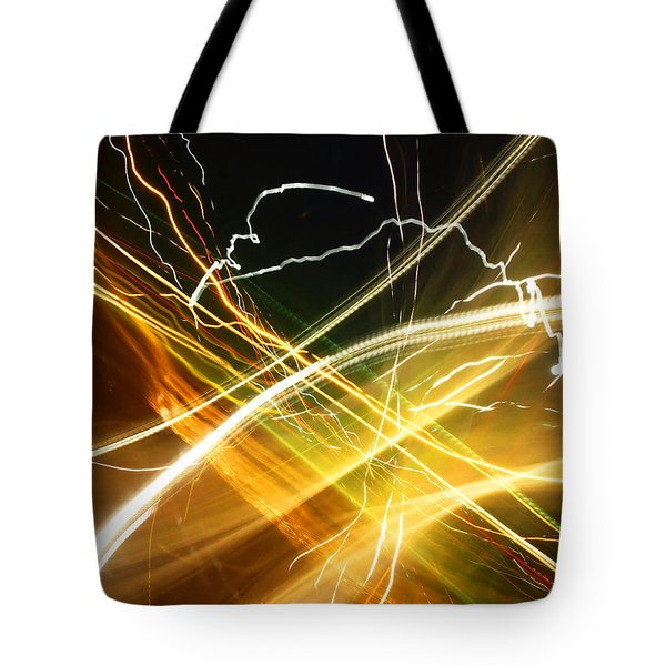 Light Curves 3 Tote Bag