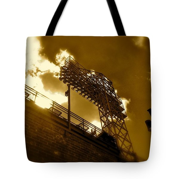 Light  Fenway Park Tote Bag